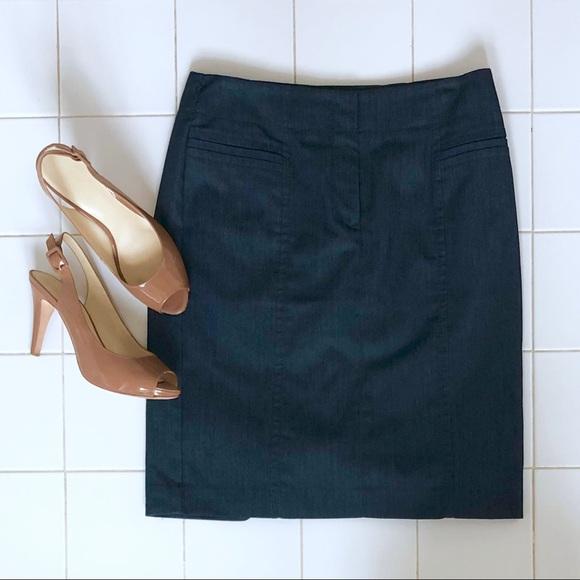 52d8daa6c Ann Taylor Dresses & Skirts - Ann Taylor Dressy Denim Skirt